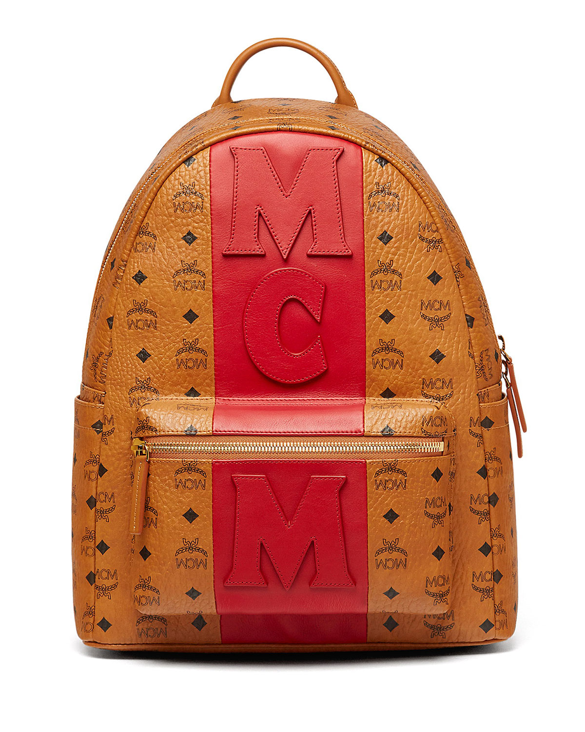 594d6293f0122d MCM Stark Stripe Visetos Backpack