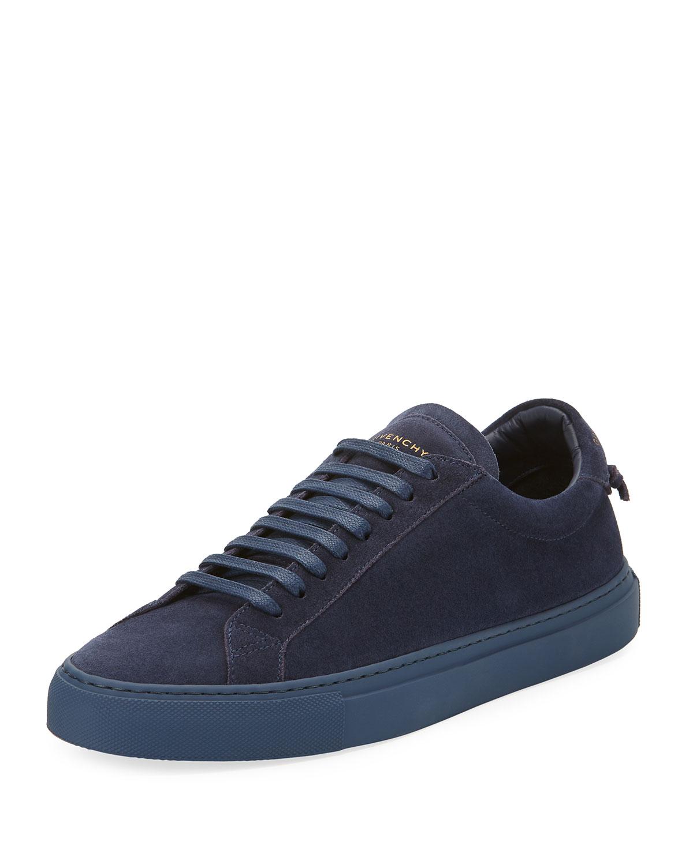 Urban Knot Suede Low-Top Sneakers