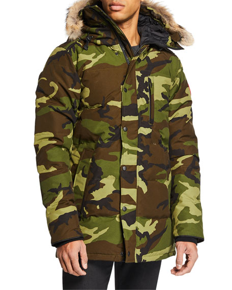 Canada Goose Carson Down Parka with Fur-Trim Hood
