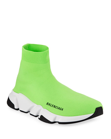 Speed Mid-Top Trainer Sock Sneakers
