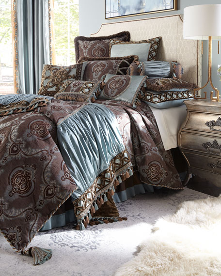 Dian Austin Couture Home Brompton Court King Duvet Cover
