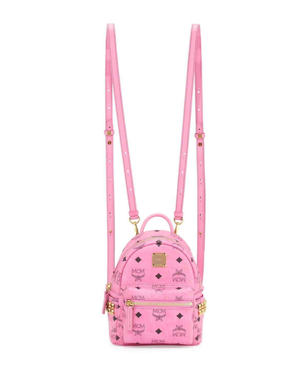 MCM Stark X-Mini Side Stud Backpack  f141886326ead
