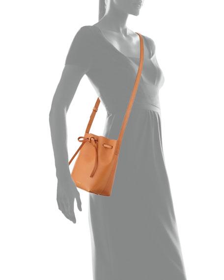 Mansur Gavriel Vegetable-Tanned Leather Mini Mini Bucket Bag