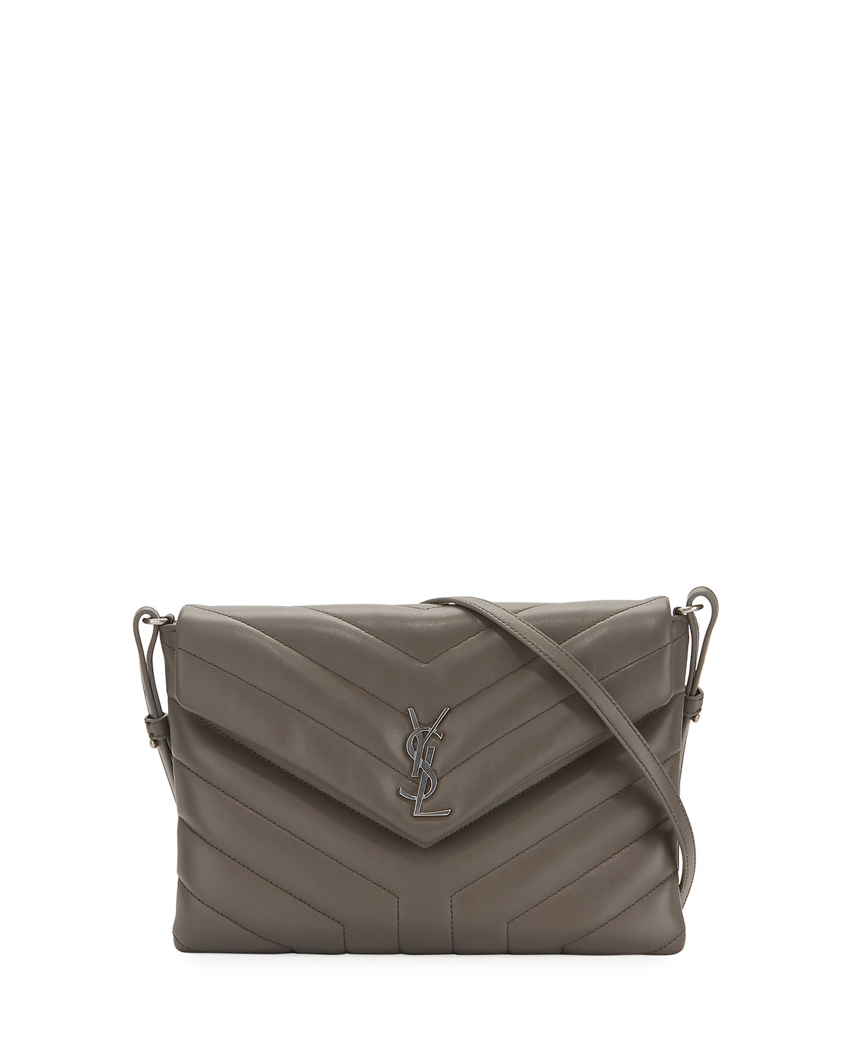 Saint Laurent Loulou Mini Monogram Crossbody Bag Neiman