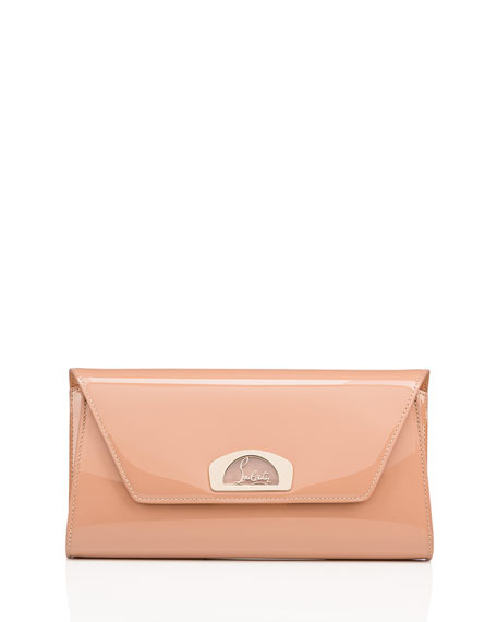 Image 1 of 4: Vero Dodat Classic Leather Clutch Bag