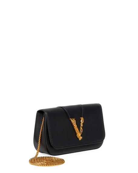 Image 3 of 4: Virtus Chain V Medallion Evening  Bag