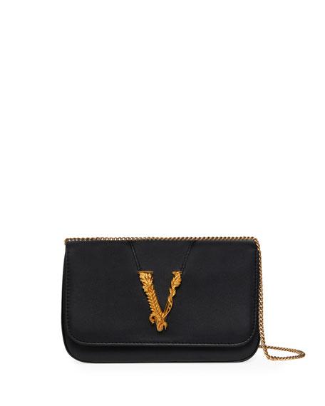 Image 1 of 4: Virtus Chain V Medallion Evening  Bag