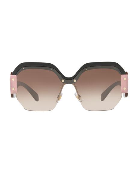 Sorbet Square Wrap-Around Sunglasses