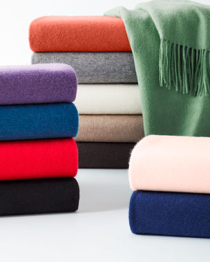 d0c93bb1d9c Luxury Blankets   Throws at Neiman Marcus