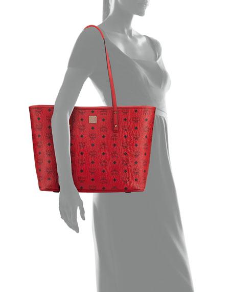 Anya Medium Top-Zip Shopper Bag