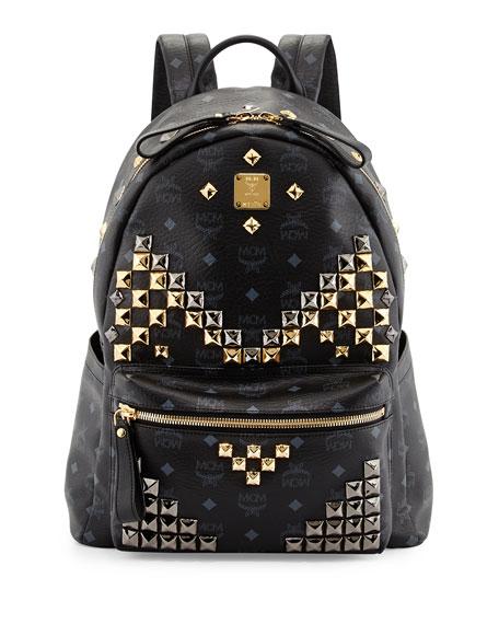 Stark M studs Medium Backpack MCM Clearance Online Ebay vwOSv2x