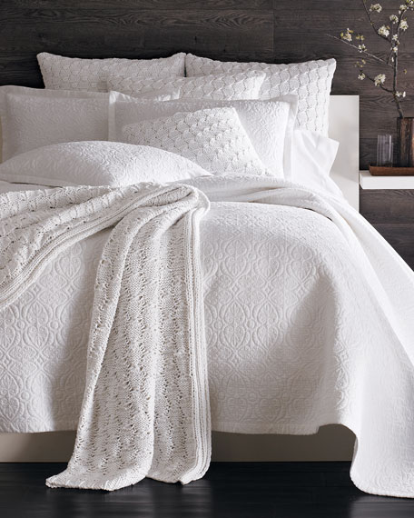 SFERRA King 3-Piece Amelia Quilt Set