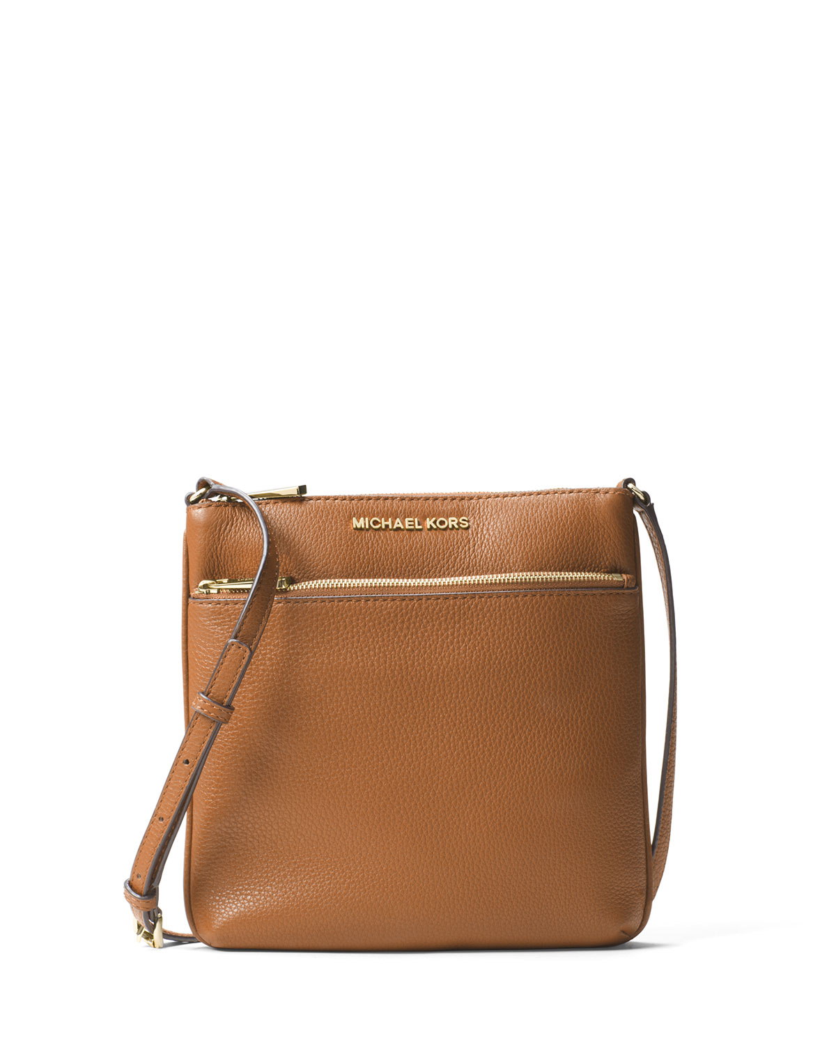 0746d8e213a7 MICHAEL Michael Kors Riley Small Leather Crossbody Bag