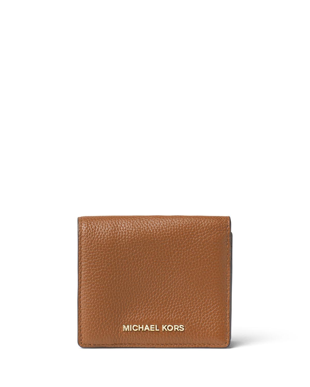 2bcb0006c7d2 MICHAEL Michael Kors Mercer Leather Card Case