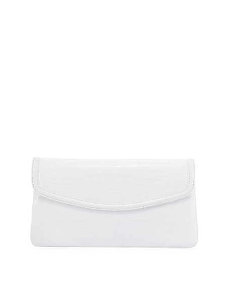 Image 1 of 3: Tracy Croc Small Clutch Bag