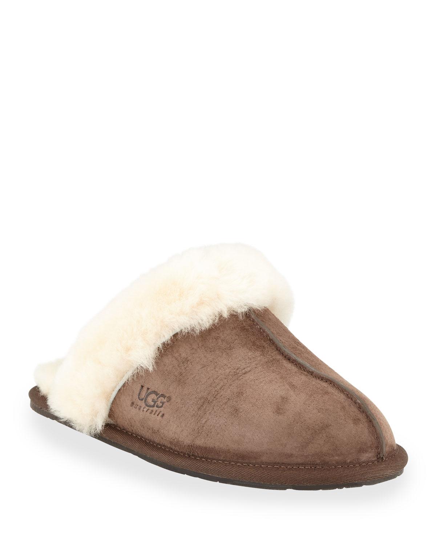 b6daf492dbe Scuffette Shearling Slide Slipper