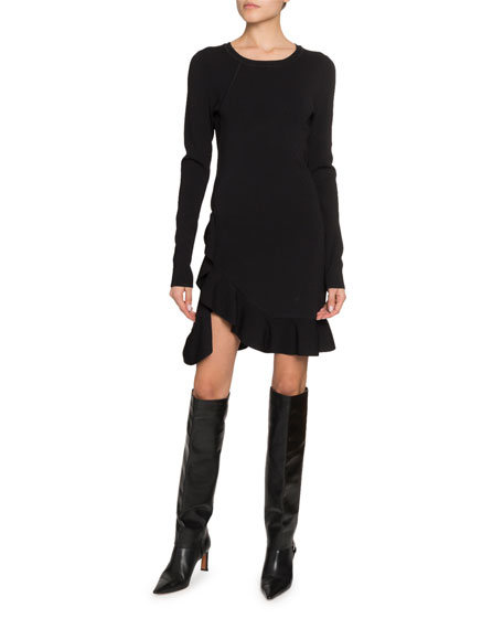 Altuzarra Long-Sleeve Ruffled Dress