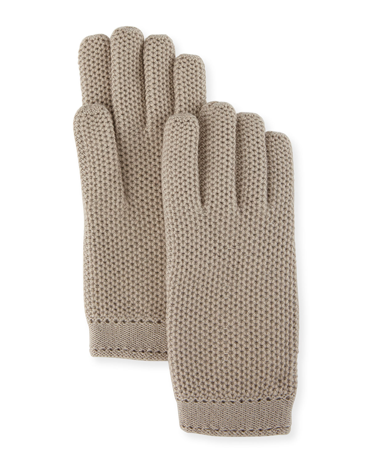 Loro Piana Cashmere Crochet Gloves