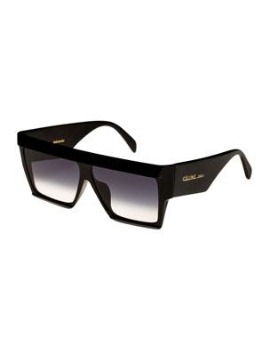 c91d30c8a Celine Bold Angular Acetate Sunglasses