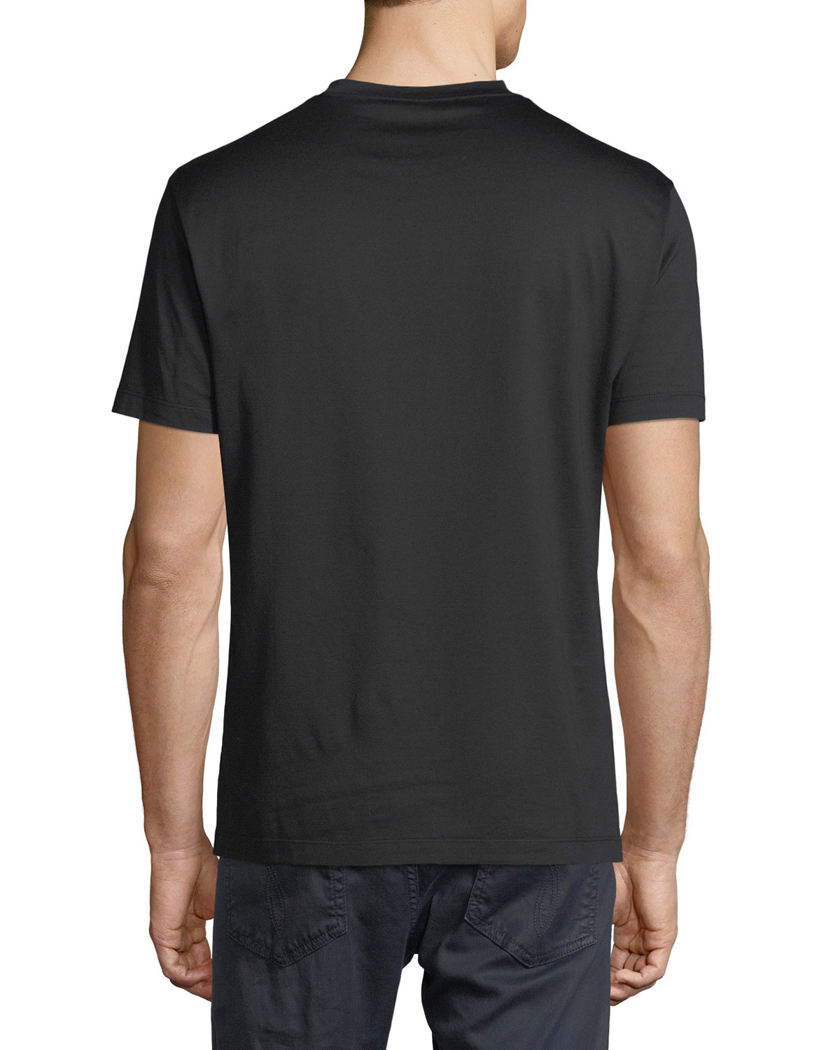 436772405 Versace Medusa Head Cotton T-Shirt | Neiman Marcus