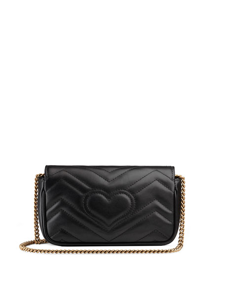 Image 3 of 4: Gucci GG Marmont Matelasse Leather Super Mini Bag