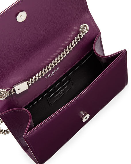 Image 2 of 2: Saint Laurent Kate Small Grain De Poudre Shoulder Bag on Chain