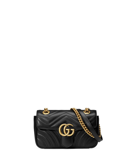 69363f30b055 Gucci GG Marmont 2.0 Mini Matelasse Shoulder Bag