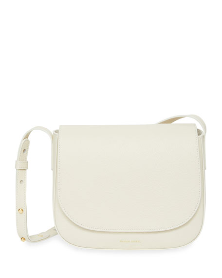 Image 1 of 3: Leather Crossbody Bag