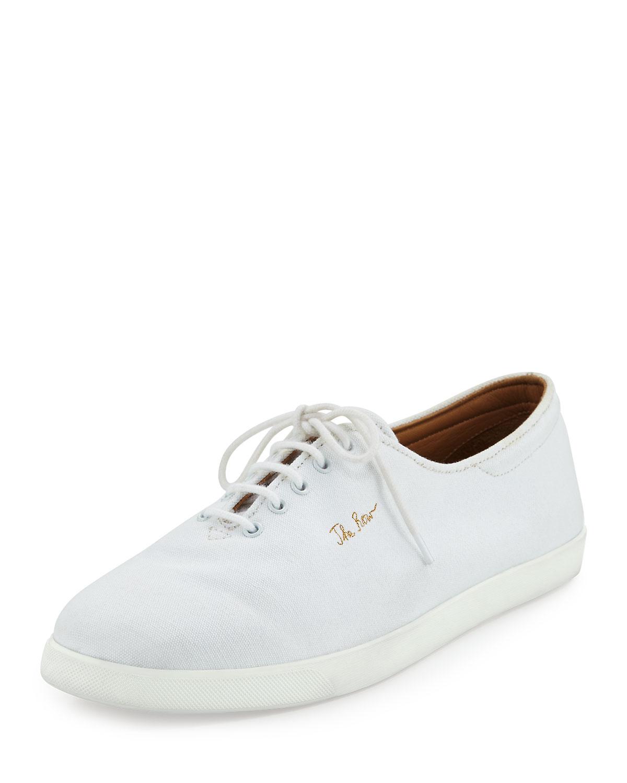 5f71f270e0b4 THE ROW Dean Canvas Tennis Shoes