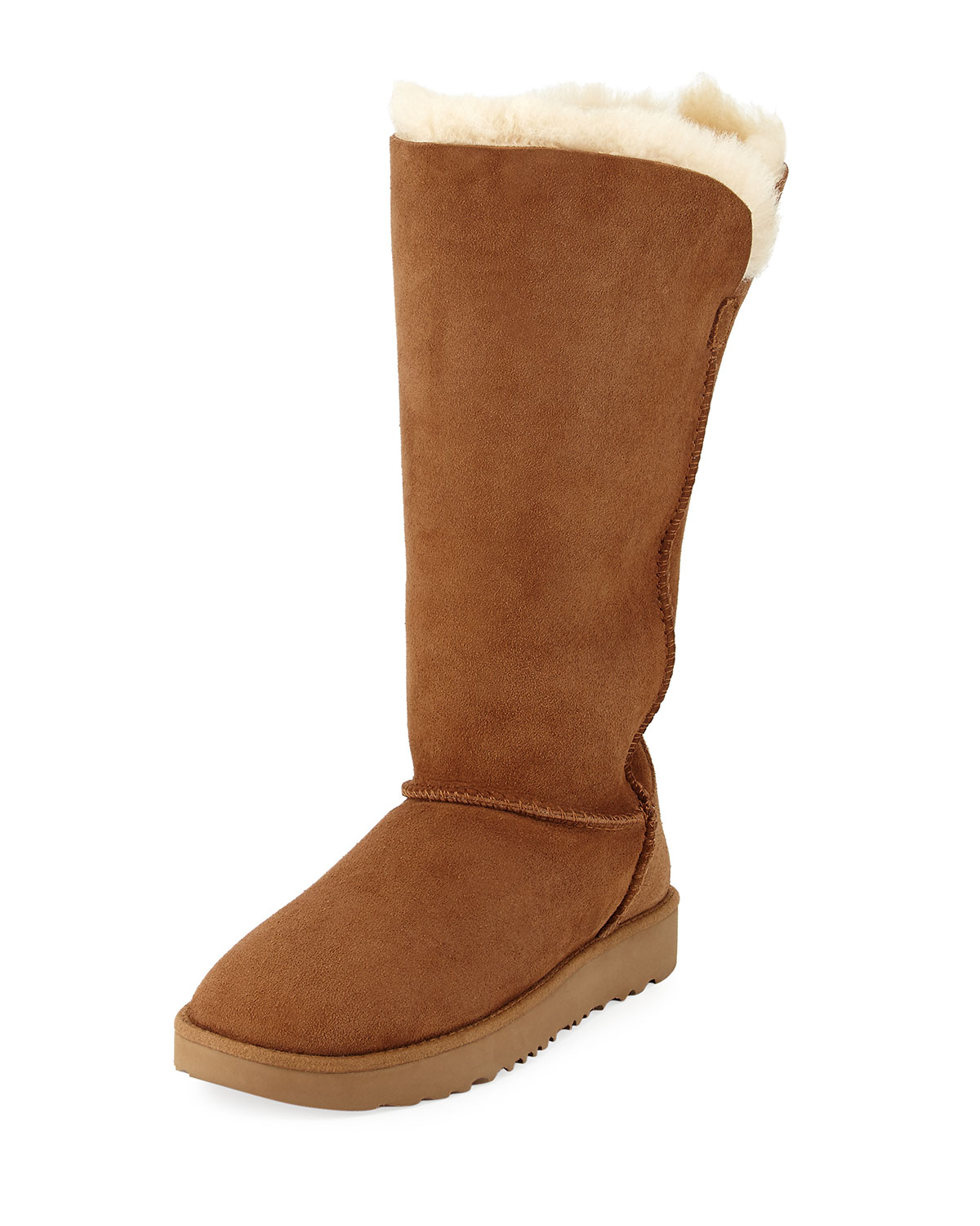 6bea0bbba2d Classic Cuff Tall Stitched Shearling Boot