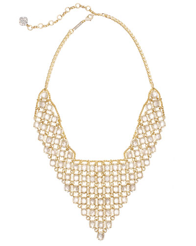 Giada Tapered Bib Necklace