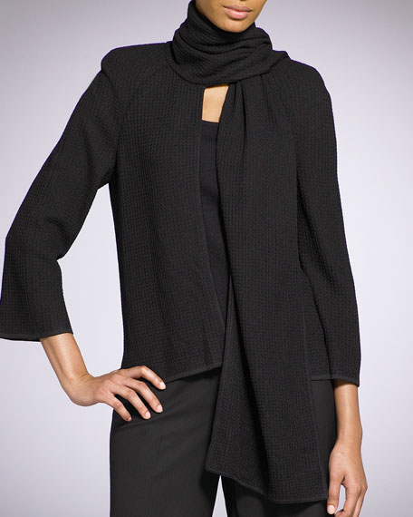 Scarf-Collar Jacket