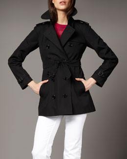 Burberry Brit Mottram Trench, Black