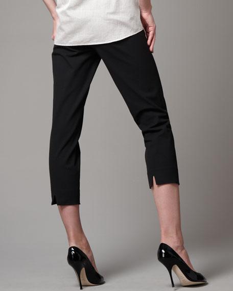 Audrey Capri Pants, Black