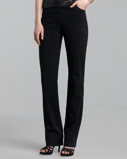 St. John Collection Marie Five-Pocket Ponte Pants