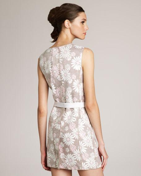 Mod Daisy-Print Dress