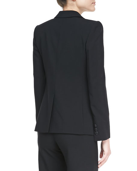 BLACK 3 BTTN SUIT JACKET