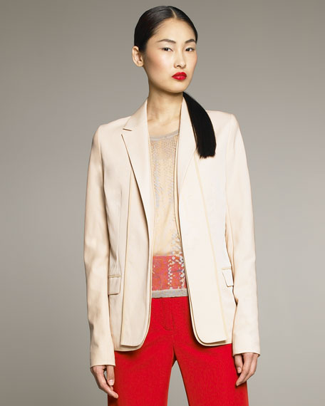 Tissue Wool Blazer