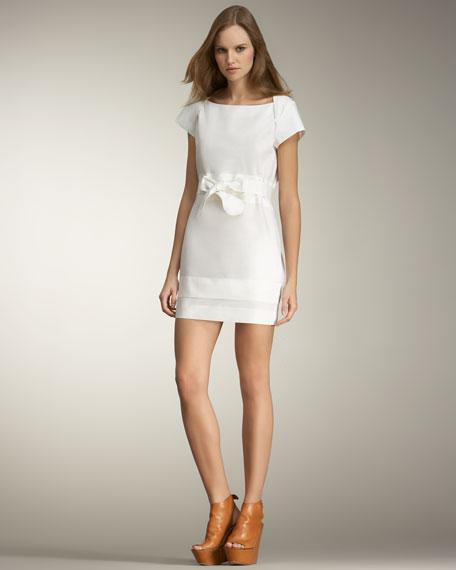 See by Chloe Tie-Waist Minidress
