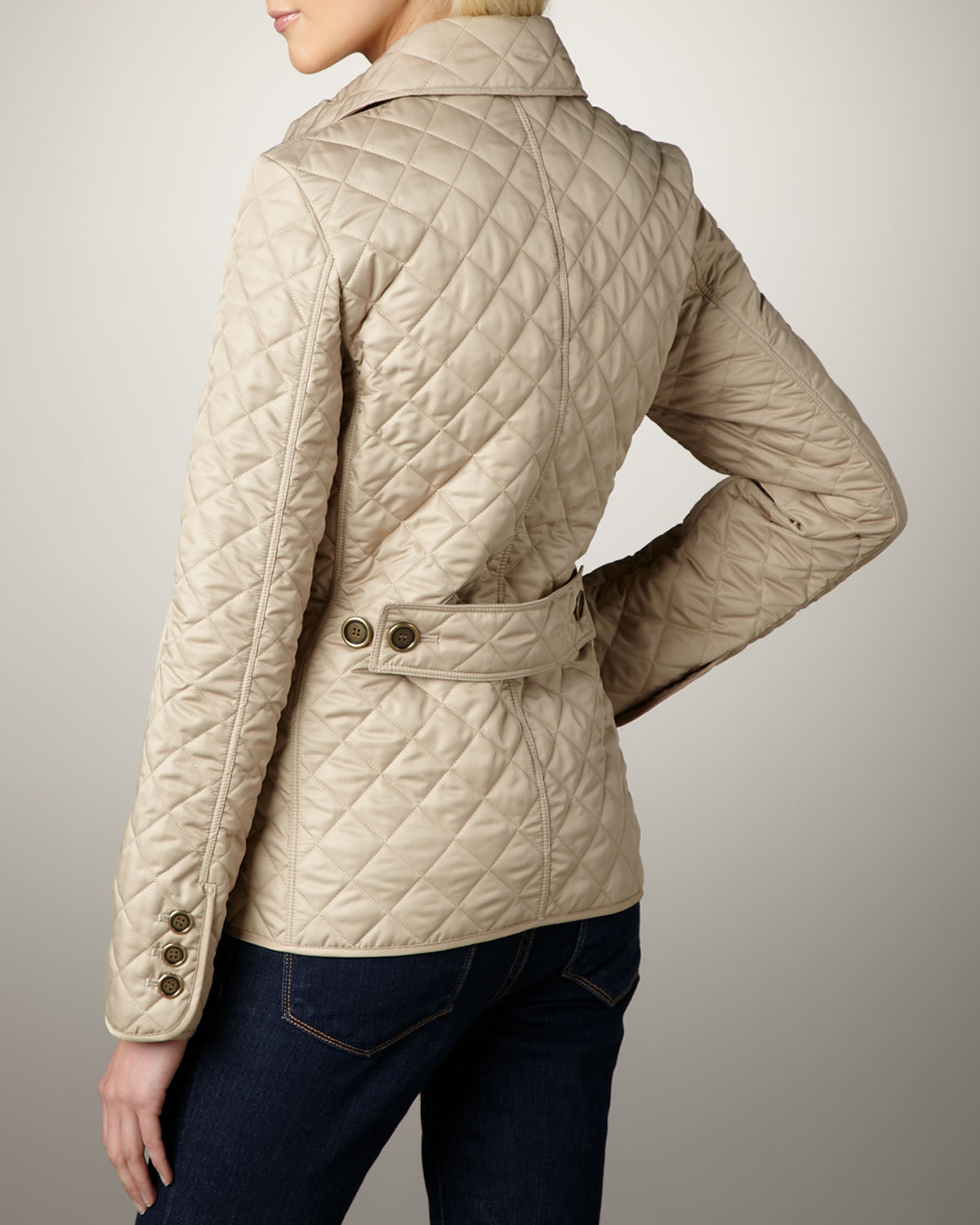 Burberry Copford Quilted Jacket, New Chino | Neiman Marcus : copford quilted jacket - Adamdwight.com