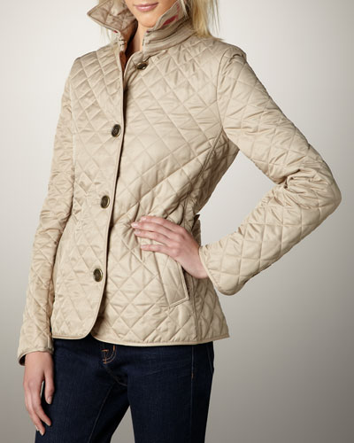 Burberry Brit Quilted Jacket, New Chino