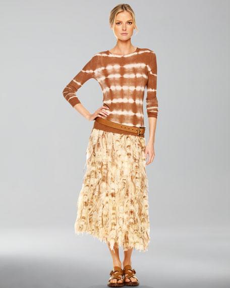 Hand-Dyed Skirt