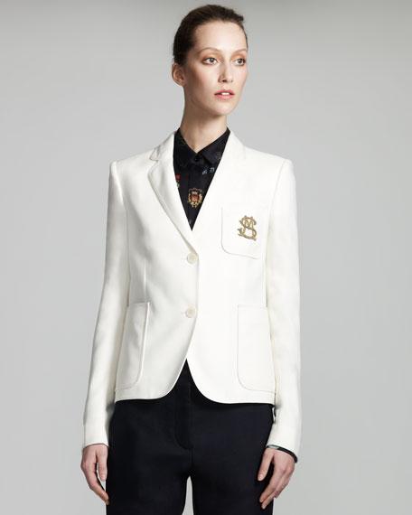 Monogrammed Schoolboy Jacket
