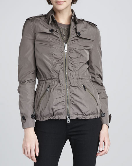 Technical Taffeta Jacket