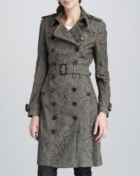 Lace Trenchcoat