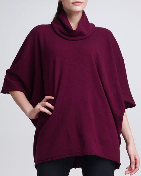 Cashmere Angel-Sleeve Sweater