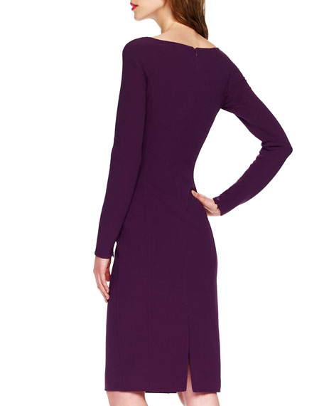 Slim Crepe Dress