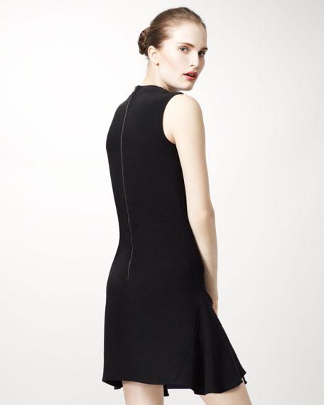 Bicolor Contoured Dress