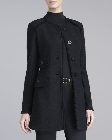Frisse-Knit Topper Jacket