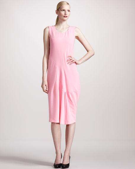 Architectural Crepe Dress